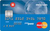 BMO Rewards MasterCard issued by Bank of Montreal
