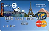 BMO Prepaid Travel MasterCard issued by Bank of Montreal