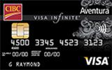 CIBC Aventura Visa Infinite Card issued by CIBC