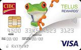 CIBC TELUS Rewards Visa Card issued by CIBC