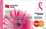 Learn more about Allure MasterCard issued by National Bank of Canada
