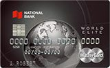 Learn more about World Elite MasterCard issued by National Bank of Canada