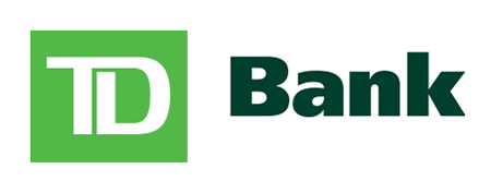 All credit cards issued by TD Bank