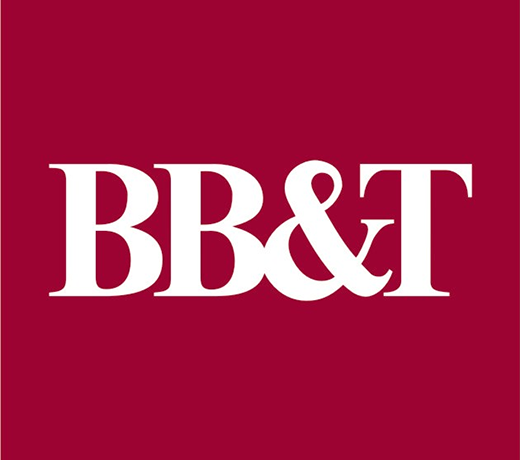All credit cards issued by BB&T