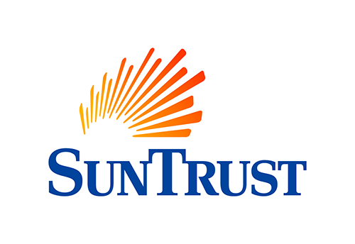 All credit cards issued by SunTrust Banks
