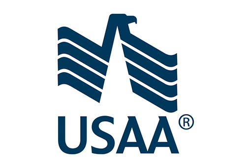 The United Services Automobile Association (USAA) logo
