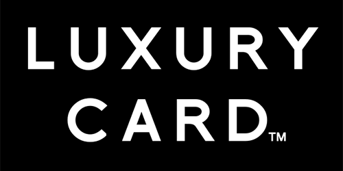 All credit cards issued by Luxury Card